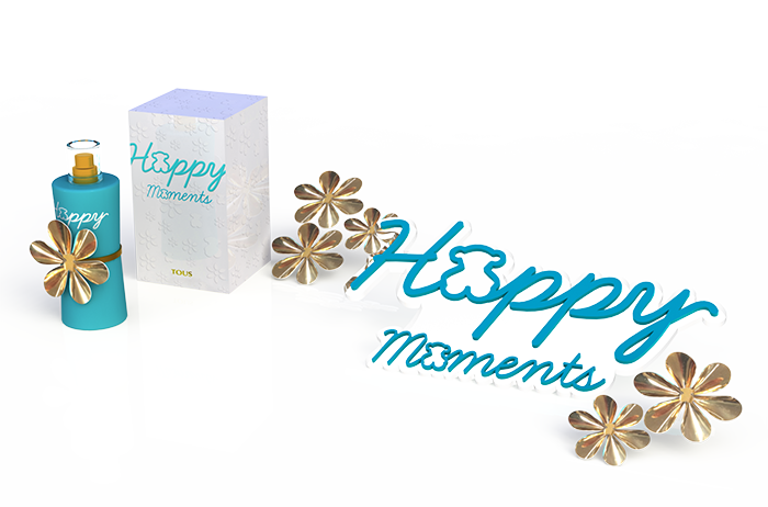 Gadget mostrador fragancia TOUS Happy Moments