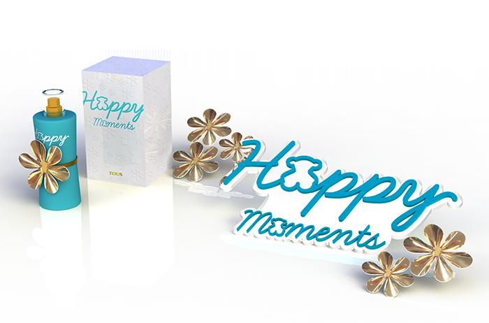 Gadget mostrador fragancia TOUS Happy Moments