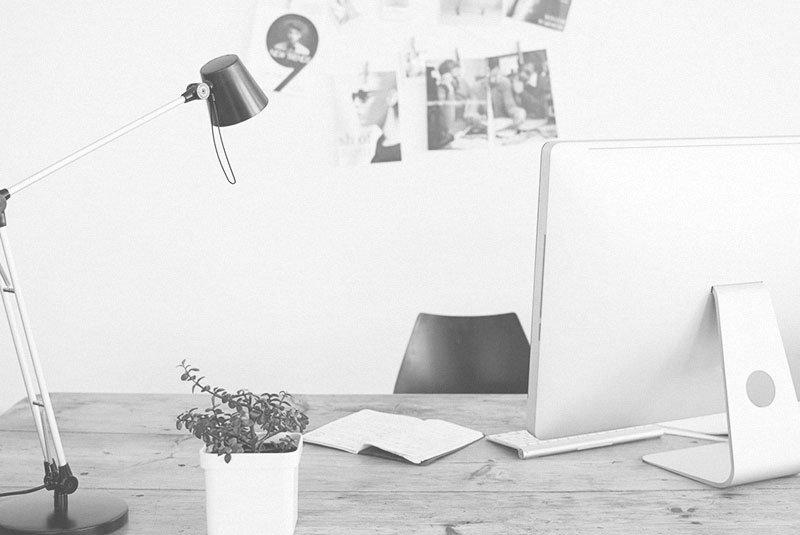 escritorio imac estudio de diseño