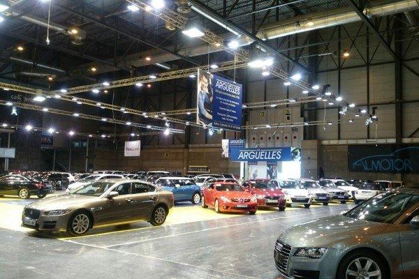 Stand Automóviles Argüelles en IFEMA Salón Vehículo Ocasión por Diseño y Publicidad