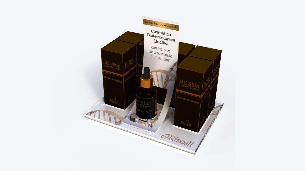 Expositor | Merchandising | Diseño y Publicidad | Glorificador | bocetos 3d | diseño gráfico | metacrilato