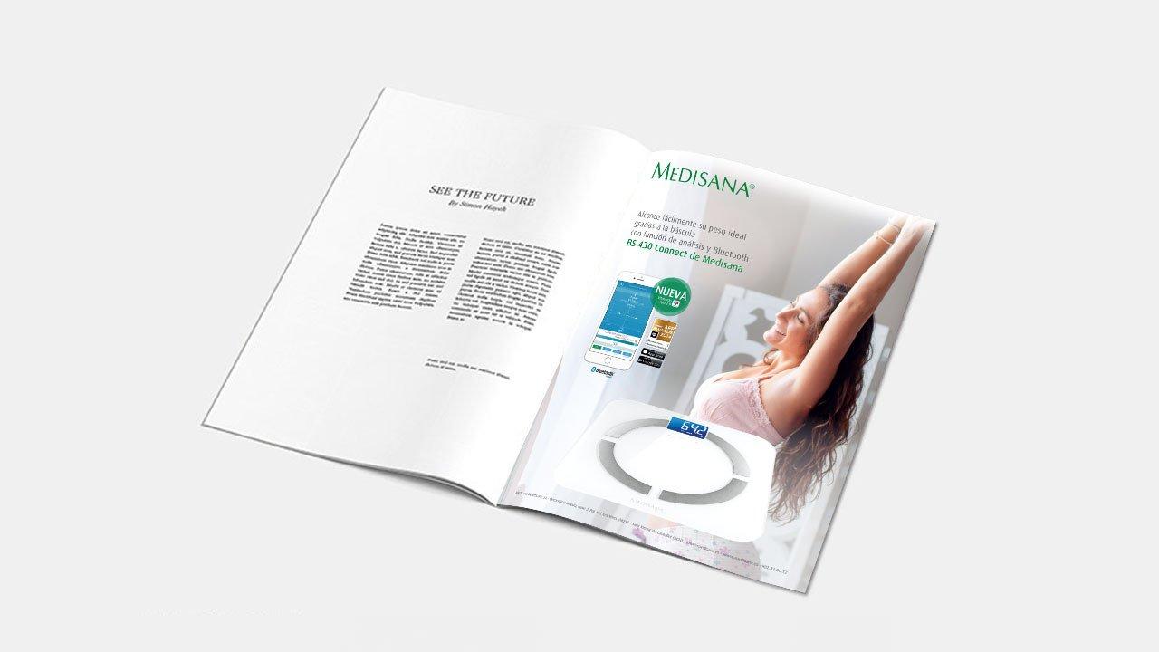 Revista medisana | Diseño y Publicidad | Diseño gráfico