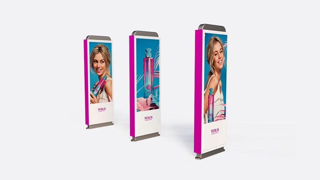 PLV | Display de carton | tous | Diseño y Publicidad