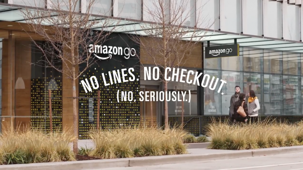 AmazonGo marketing retail