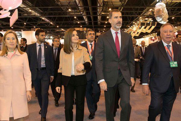 FITUR stands de diseño. Inauguración reyes de España, Felipe y Letizia. Diseño y Publicidad.