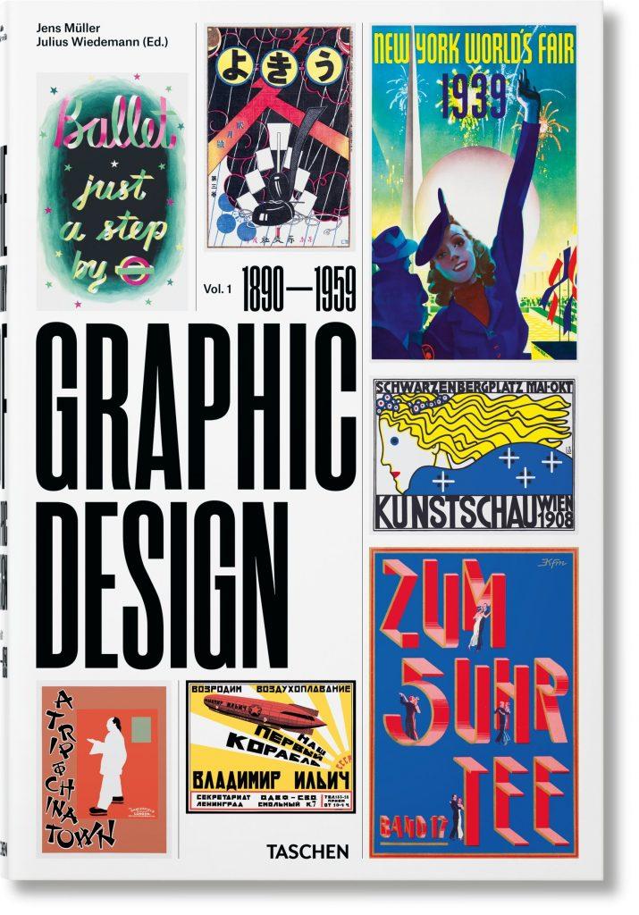 Diseño y Publicidad. Taschen libro historia del diseño gráfico. Volumen 1