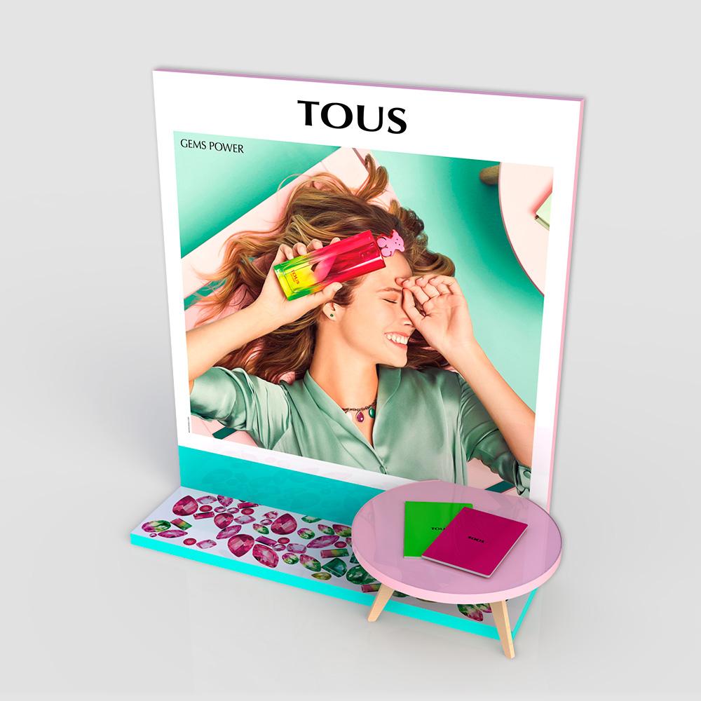 Visual merchandising Gems Power