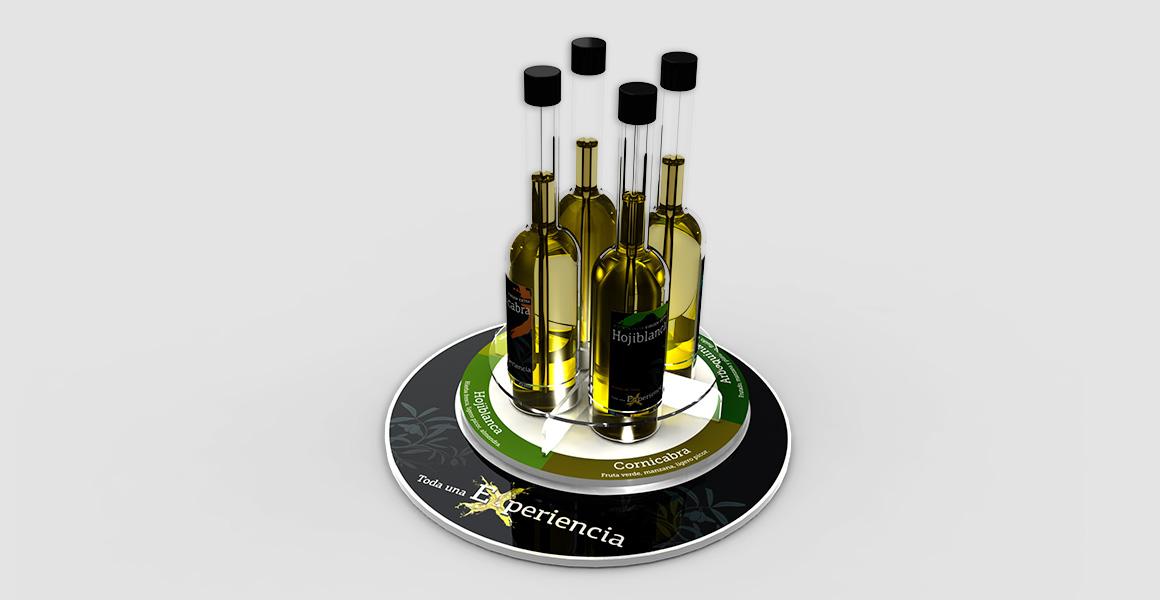 Expositor giratorio Aceite de oliva
